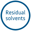 Residual solvents
